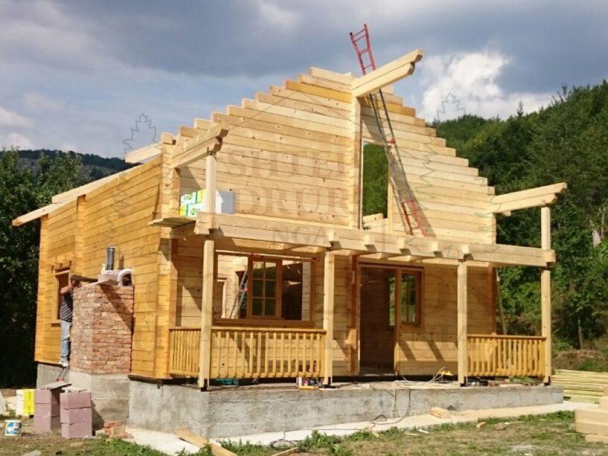 Casa in stebleve librazhd eco alsion for Planimetria casa tradizionale giapponese