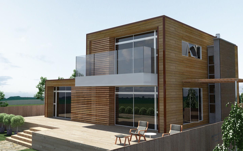 Strutture Di Case Moderne.Casa Moderna A Telaio Eco Alsion